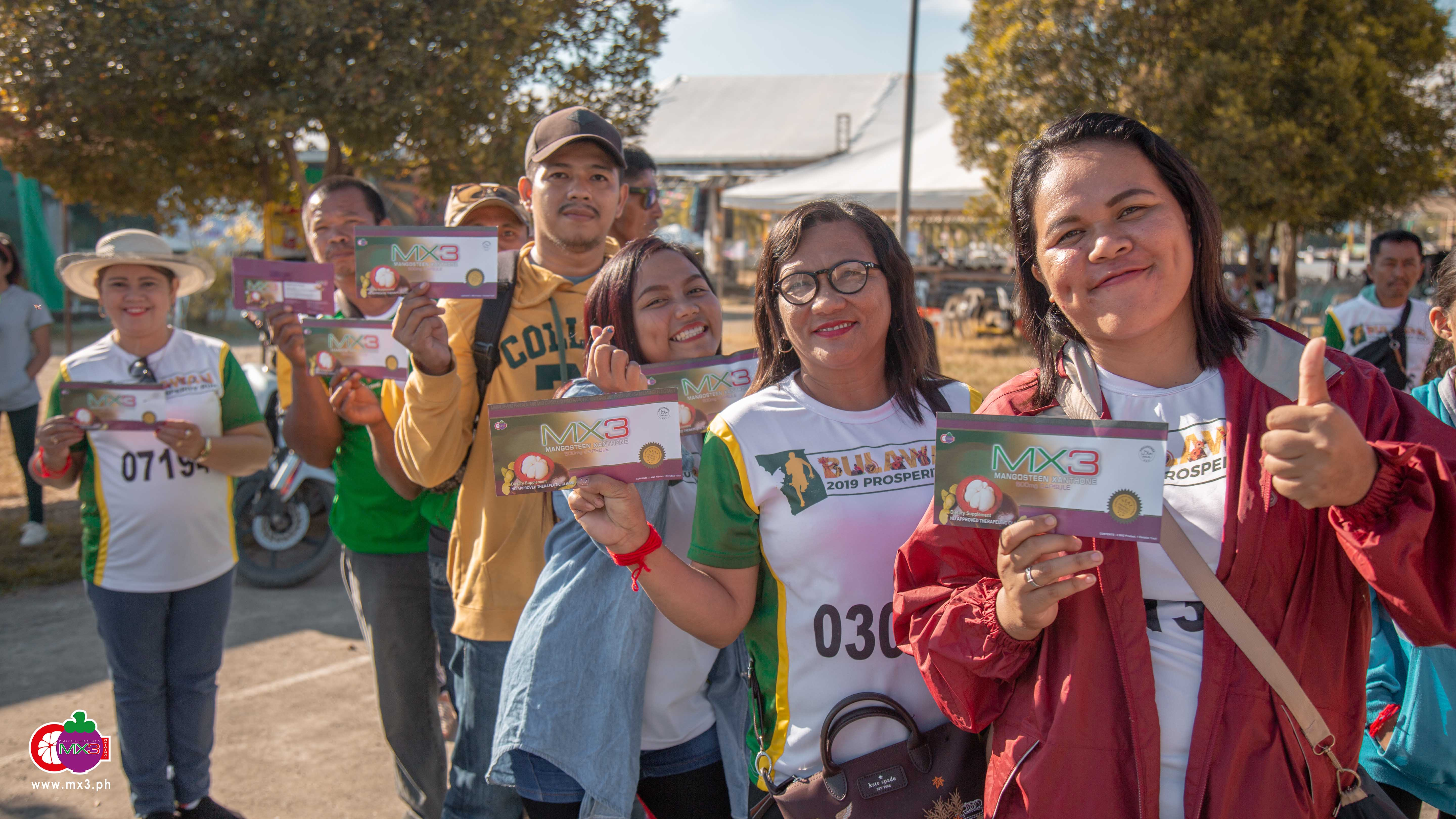 MX3 Spreads Glitter of Blessings at the Festival of Gold