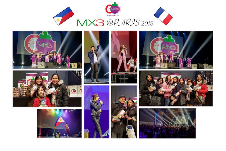 MX3 Warms Up ABS CBN's Kapamilya Fiesta World Show