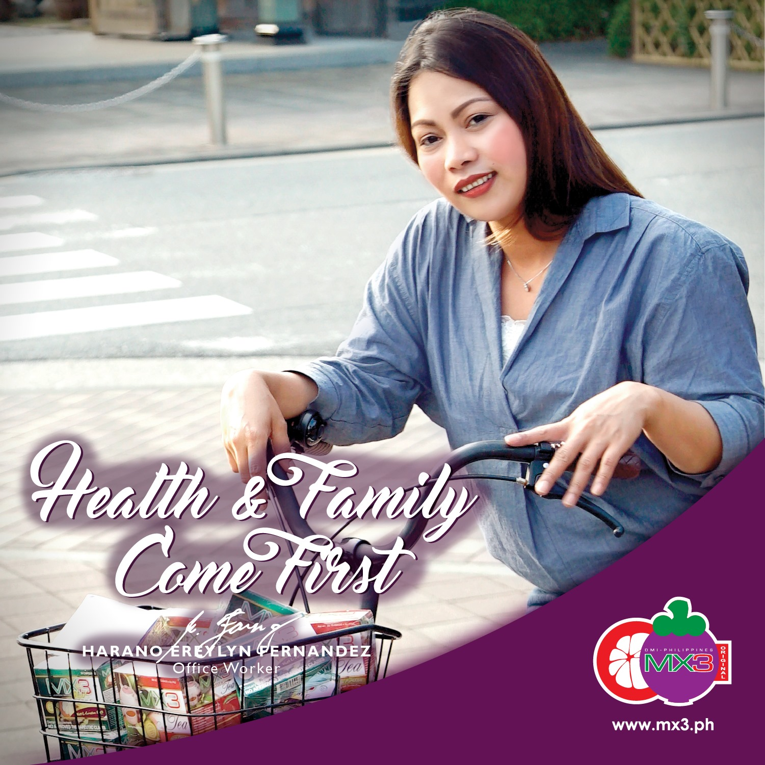 Health & Family Comes First with MX3 Capsule