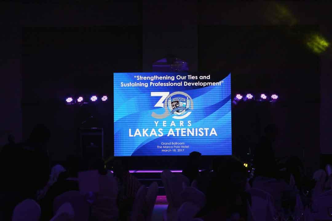 MX3 Celebrates with Lakas Atenista's Anniversary