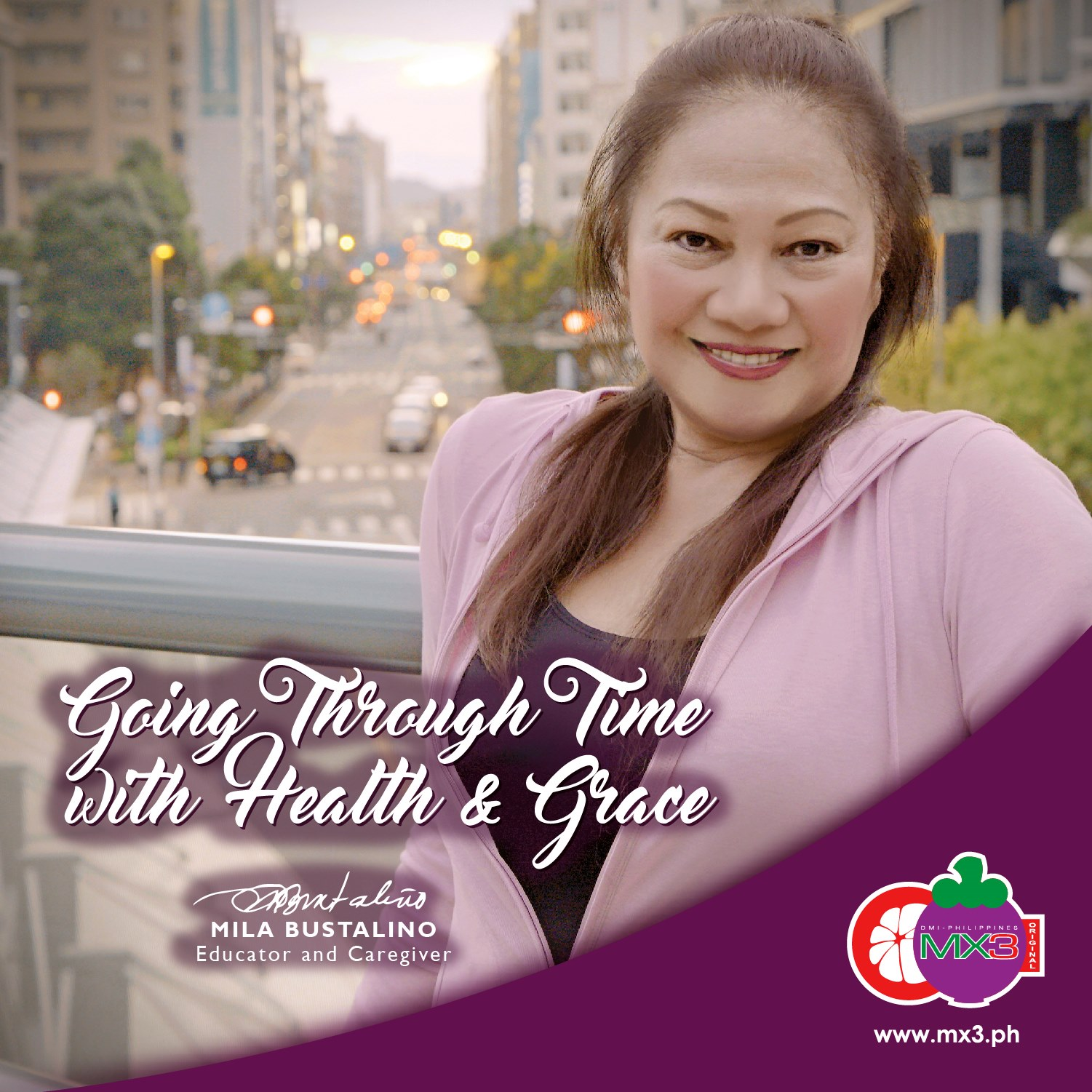 MX3 Capsule: Going through Time with Health and Grace