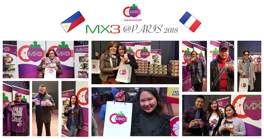 Pinoys in Paris: Sharing Good Fun and MX3 Stories