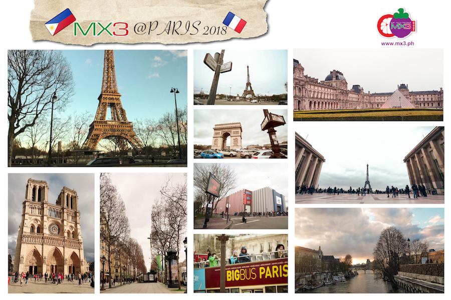 MX3 in Paris 2018