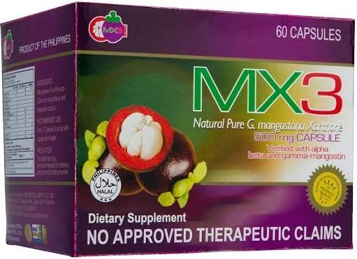 MX3 Capsule USA Label Certification