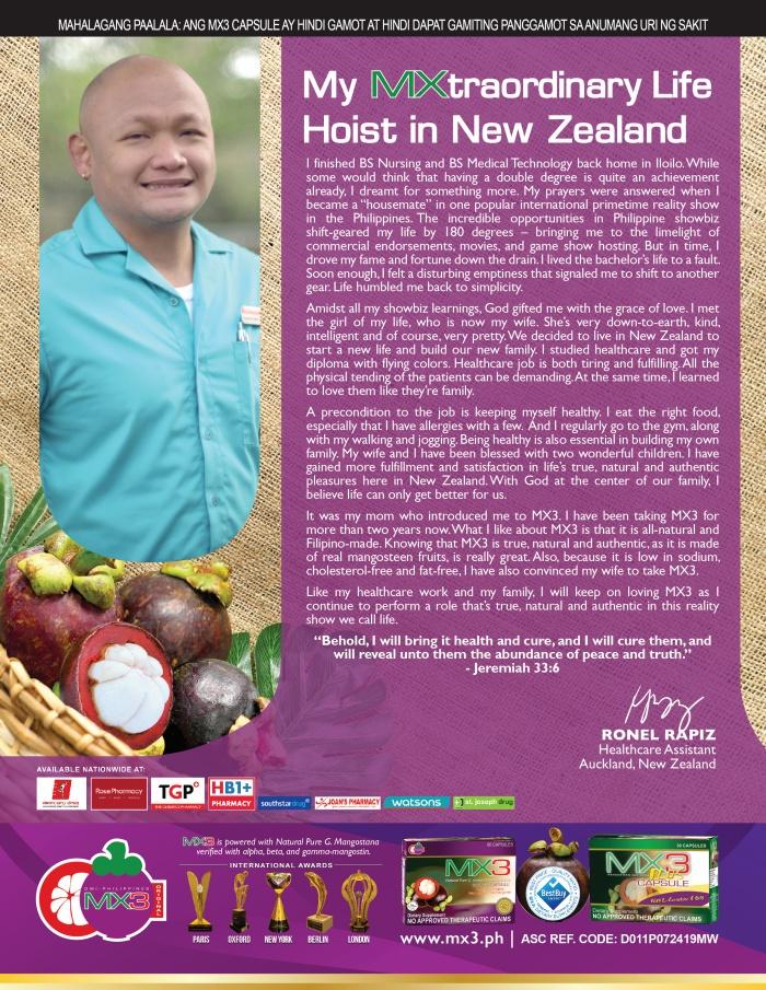My MXtraordinary Life Hoist in New Zealand