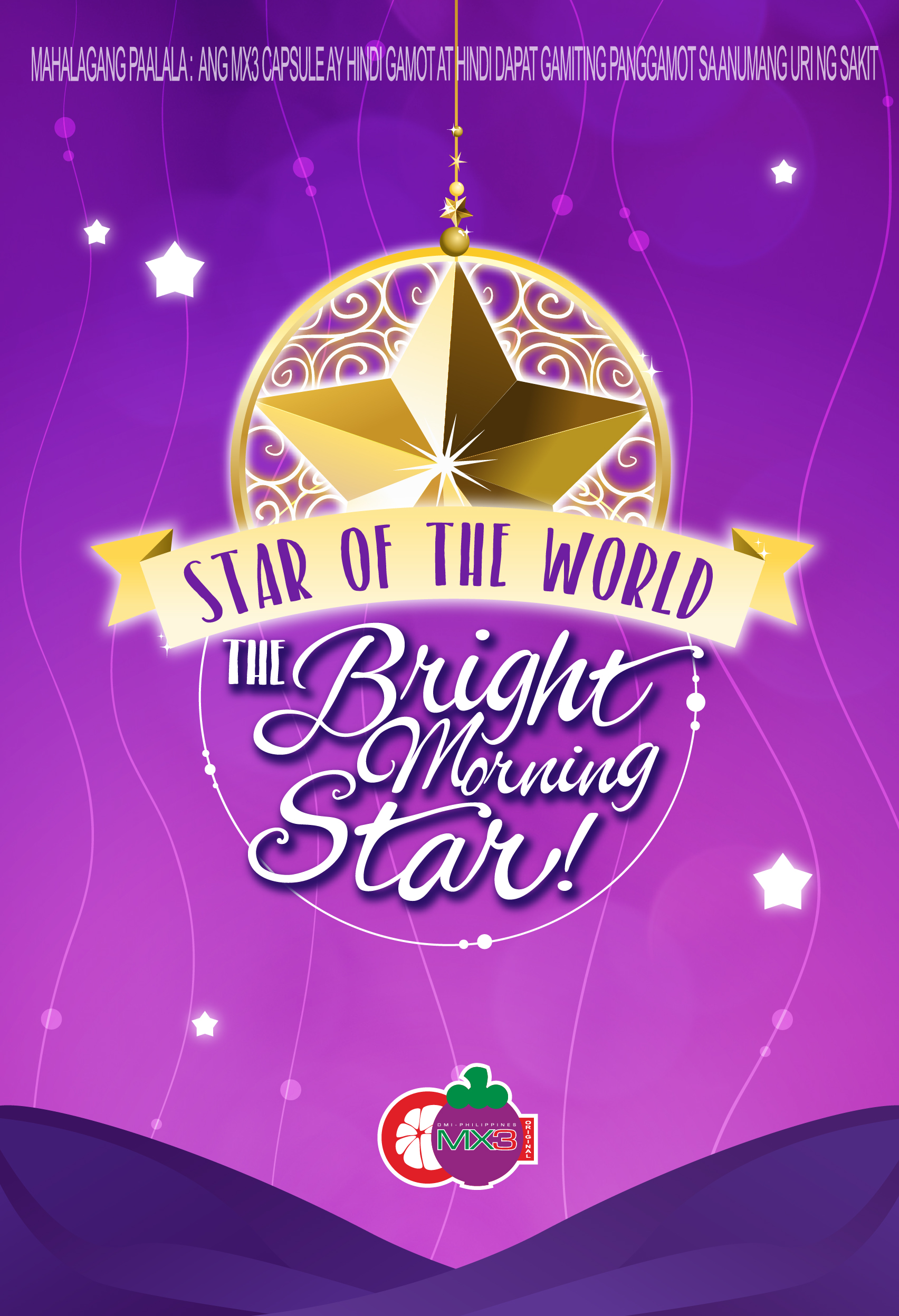 STAR OF THE WORLD, THE BRIGHT MORNING STAR 2018
