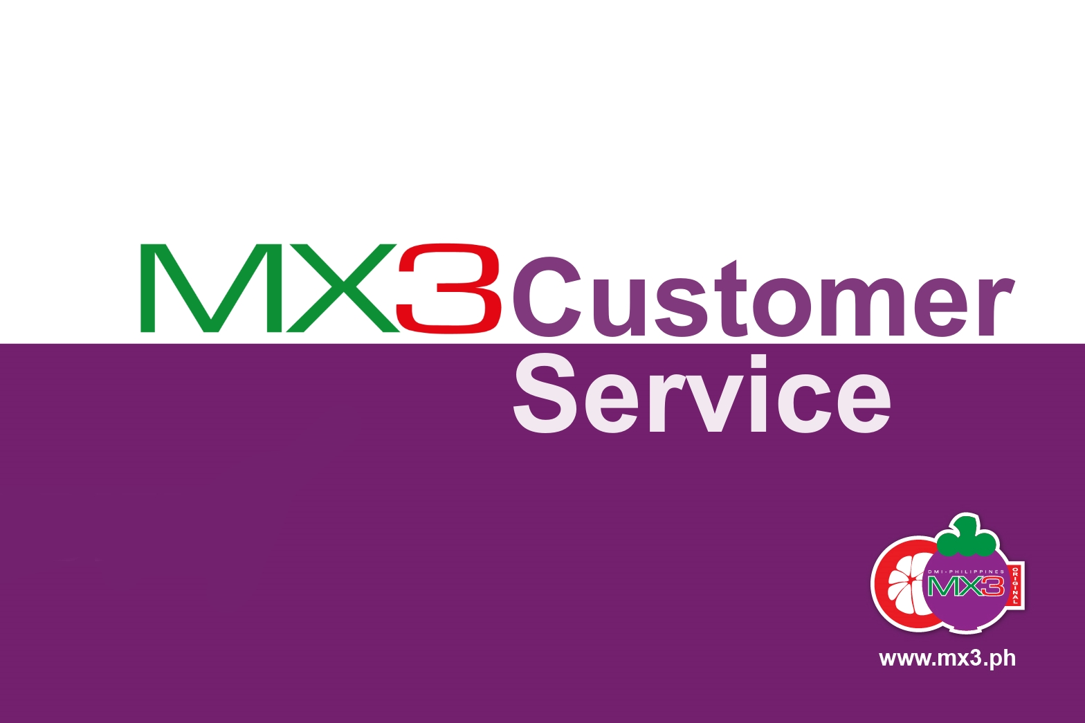 MX3 Customer Service Contacts