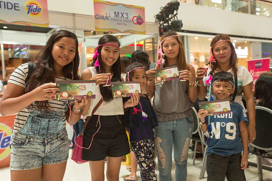 Heartwarming Fun & Glitter at  the GMA Regional TV's Kadayawan Festival Back-to-Back Mall Shows; Made MXtraordinary with MX3