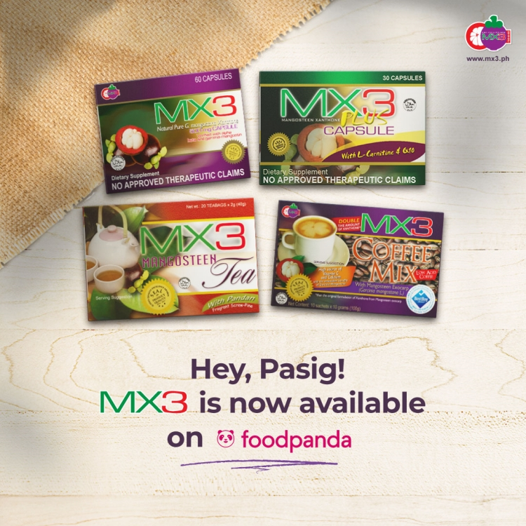 MX3 is now Available on FoodPanda Shop