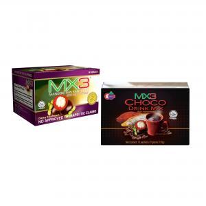 MX3 Capsule with MX3 Choco Drink Mix