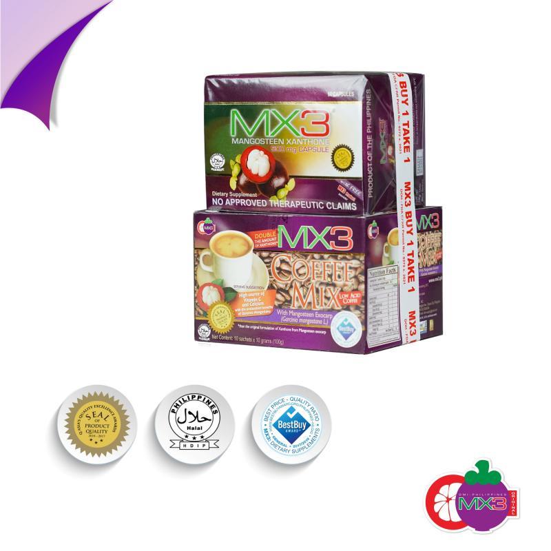 MX3 Capsule with MX3 Coffee Mix